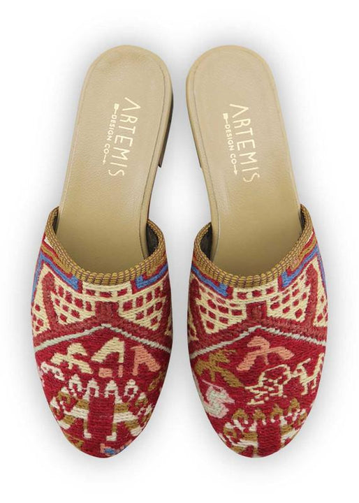 Women's Shoes - Women's Sumak Kilim Slides - Size 38