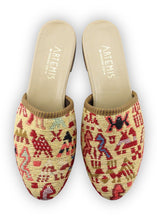 Load image into Gallery viewer, Women's Shoes - Women's Sumak Kilim Slides - Size 40