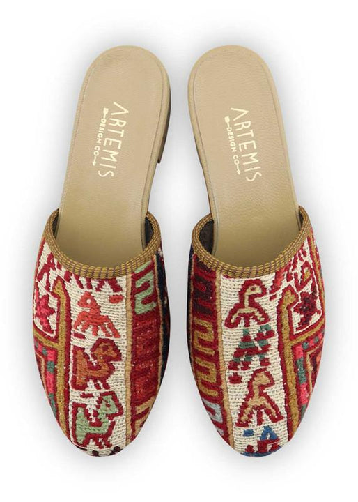 Women's Shoes - Women's Sumak Kilim Slides - Size 40