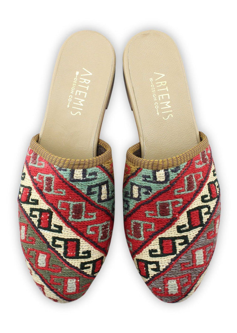 Load image into Gallery viewer, Women's Shoes - Women's Sumak Kilim Slides - Size 41