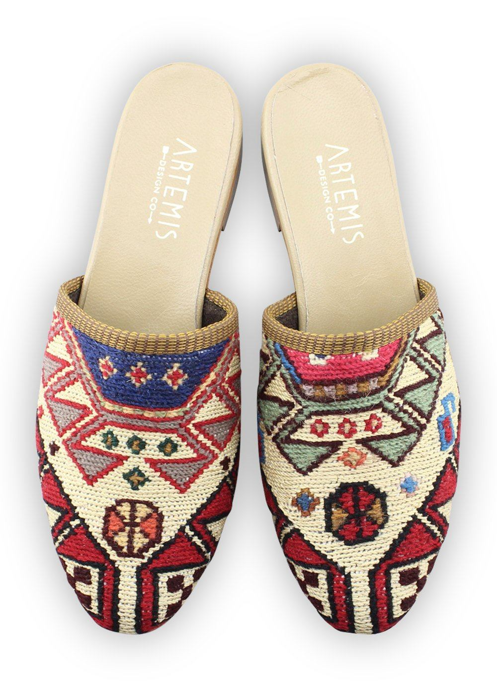 Women's Shoes - Women's Sumak Kilim Slides - Size 41
