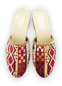Women's Shoes - Women's Sumak Kilim Slides - Size 42