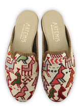Load image into Gallery viewer, Women's Shoes - Women's Sumak Kilim Slippers - Size 36