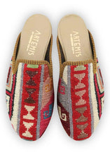 Load image into Gallery viewer, Women's Shoes - Women's Sumak Kilim Slippers - Size 37
