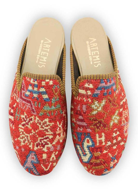 Load image into Gallery viewer, Women's Shoes - Women's Sumak Kilim Slippers - Size 39