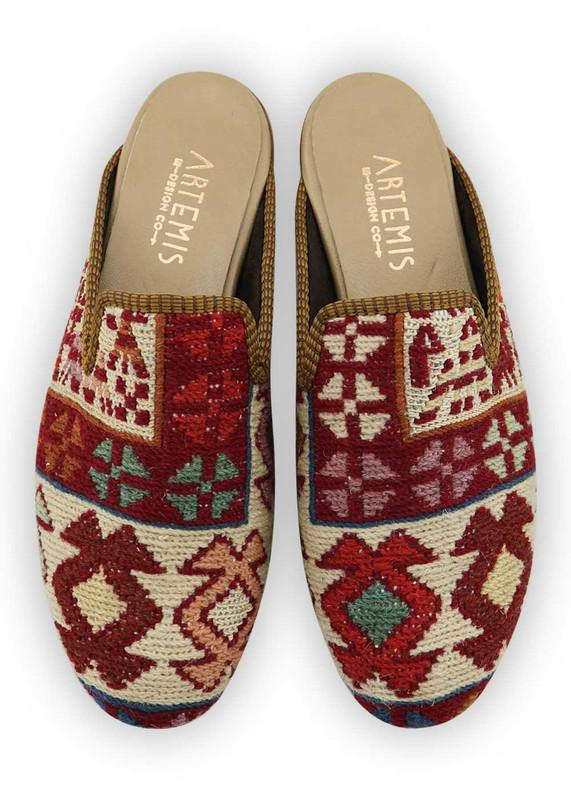 Women's Shoes - Women's Sumak Kilim Slippers - Size 42