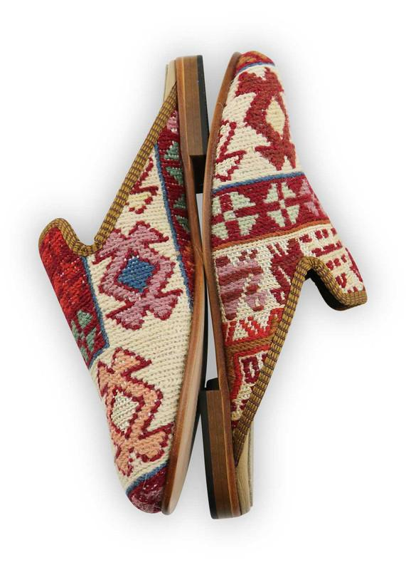 Load image into Gallery viewer, Women's Shoes - Women's Sumak Kilim Slippers - Size 42