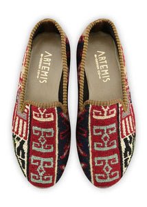 Women's Shoes - Women's Sumak Kilim Smoking Shoes - Size 36