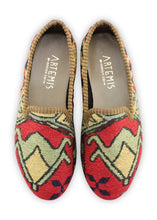 Load image into Gallery viewer, Women's Shoes - Women's Sumak Kilim Smoking Shoes - Size 37
