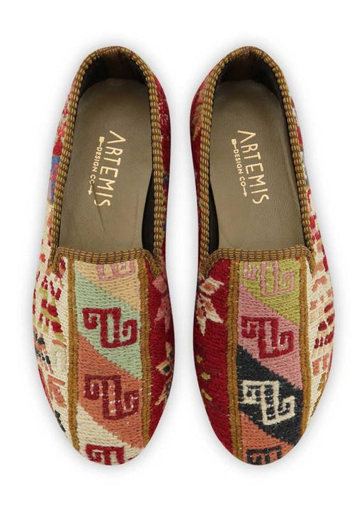 Women's Shoes - Women's Sumak Kilim Smoking Shoes - Size 37