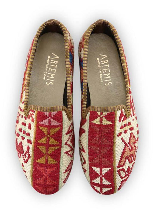 Women's Shoes - Women's Sumak Kilim Smoking Shoes - Size 38