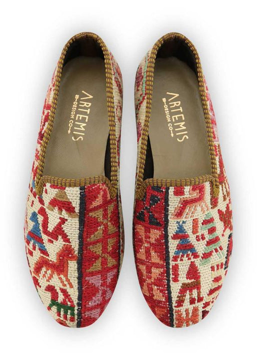 Women's Shoes - Women's Sumak Kilim Smoking Shoes - Size 39