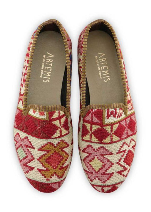 Women's Shoes - Women's Sumak Kilim Smoking Shoes - Size 40