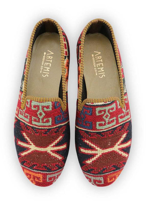 Women's Shoes - Women's Sumak Kilim Smoking Shoes - Size 41