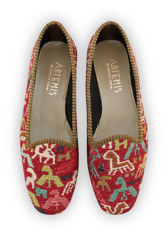Load image into Gallery viewer, womens-kilim-loafers-WKLF37-0345
