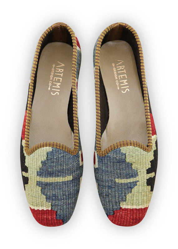 Load image into Gallery viewer, womens-kilim-loafers-WKLF38-0459