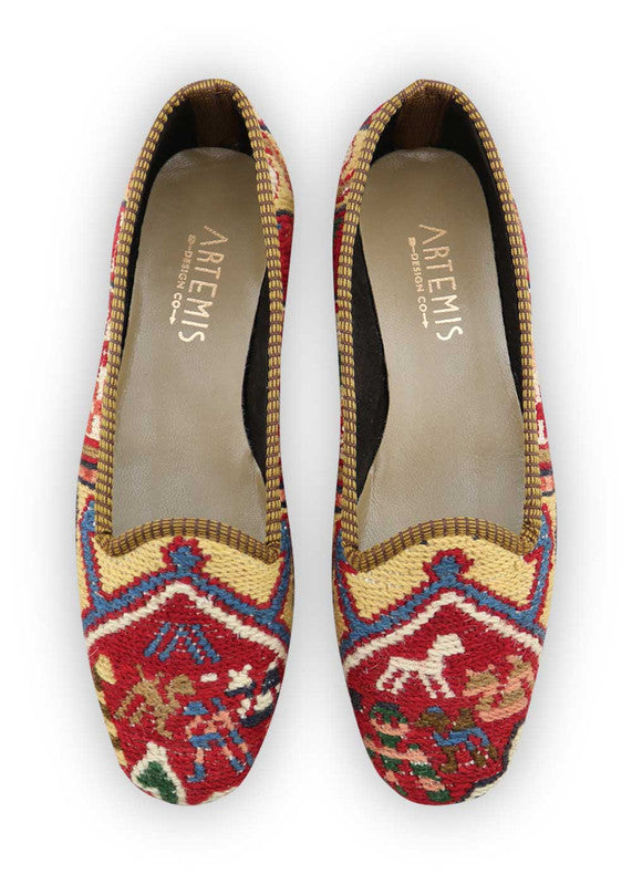 Load image into Gallery viewer, womens-kilim-loafers-WKLF39-0427