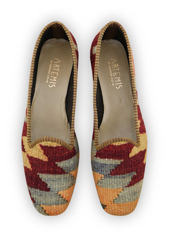 Load image into Gallery viewer, womens-kilim-loafers-WKLF42-0031