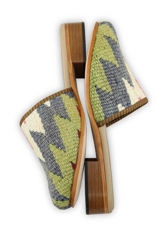 Load image into Gallery viewer, womens-kilim-slides-WKSD38-0198S