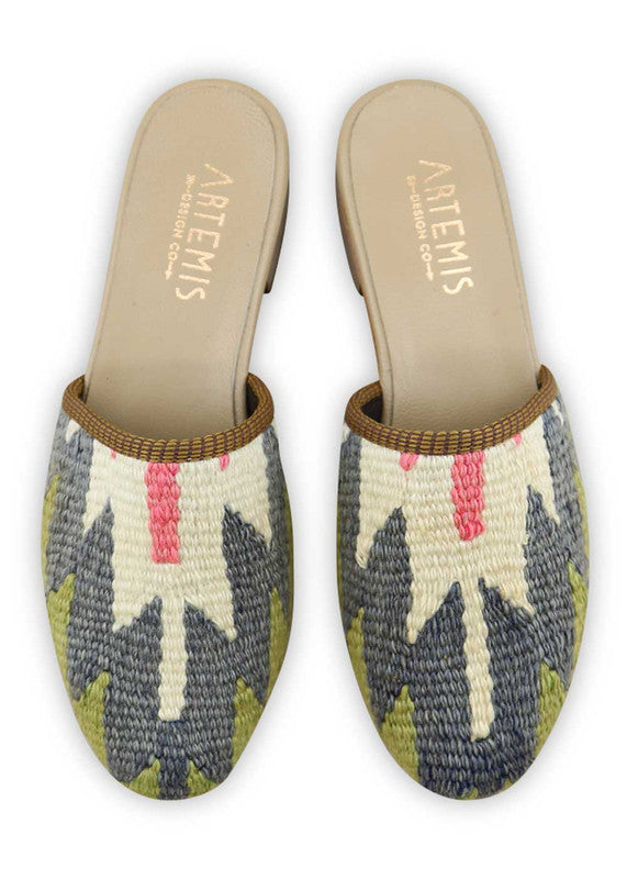 Load image into Gallery viewer, womens-kilim-slides-WKSD38-0198