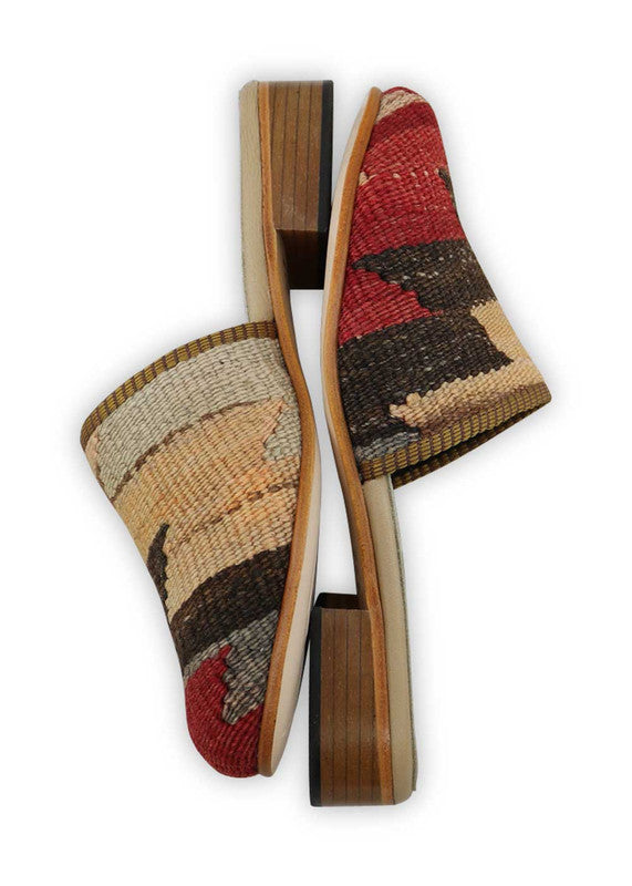 Load image into Gallery viewer, womens-kilim-slides-WKSD38-0215S