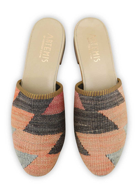 Load image into Gallery viewer, womens-kilim-slides-WKSD40-0171