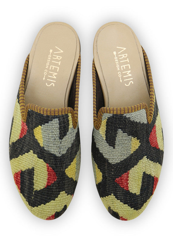 Load image into Gallery viewer, womens-kilim-slippers-WKSP37-0090