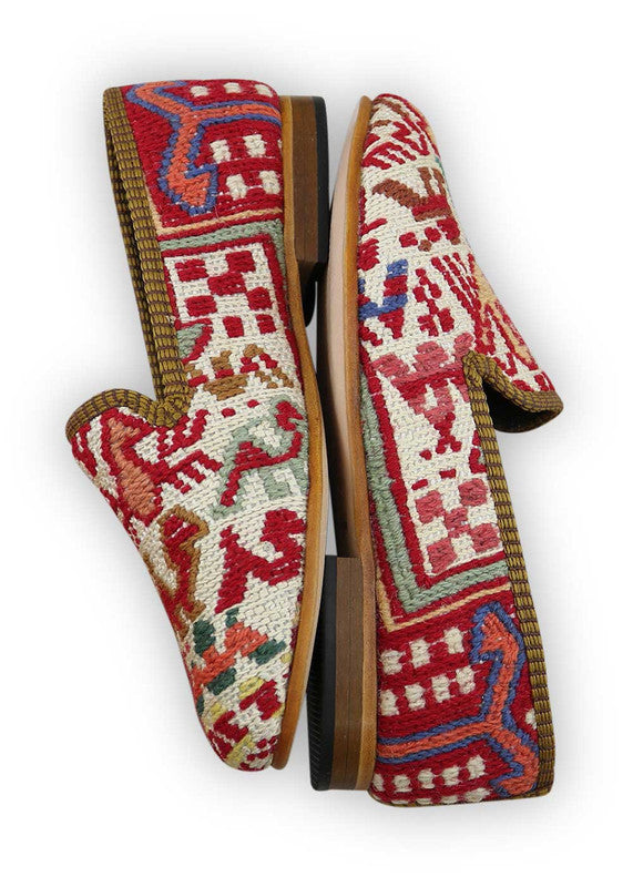 Load image into Gallery viewer, womens-kilim-smoking-shoes-WKSS35-0131S