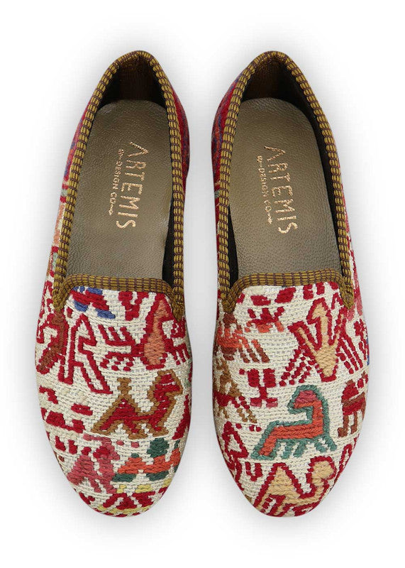 Load image into Gallery viewer, womens-kilim-smoking-shoes-WKSS35-0131