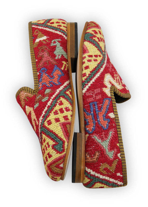 Load image into Gallery viewer, womens-kilim-smoking-shoes-WKSS38-0378S