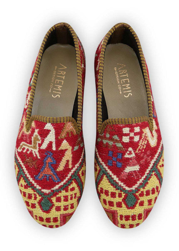 Load image into Gallery viewer, womens-kilim-smoking-shoes-WKSS38-0378