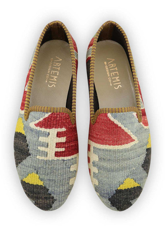 Load image into Gallery viewer, womens-kilim-smoking-shoes-WKSS38-0379