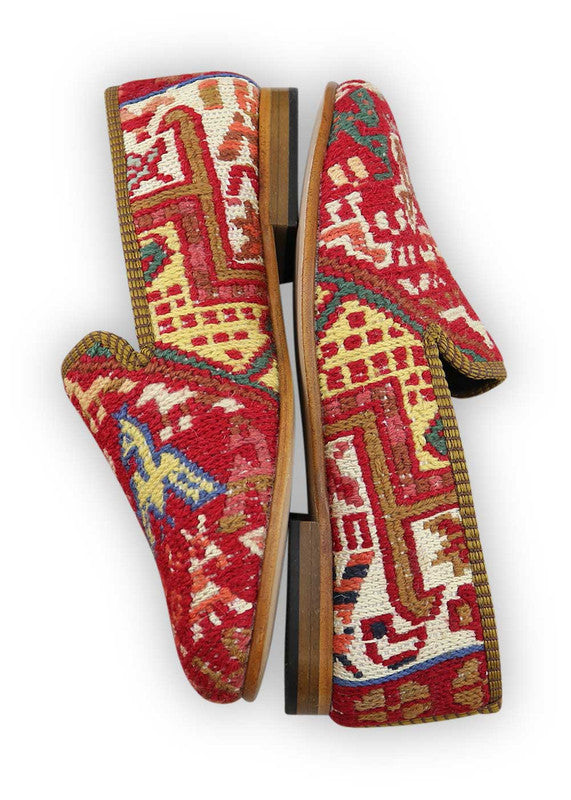 Load image into Gallery viewer, womens-kilim-smoking-shoes-WKSS38-0383S