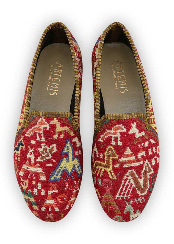 Load image into Gallery viewer, womens-kilim-smoking-shoes-WKSS38-0383