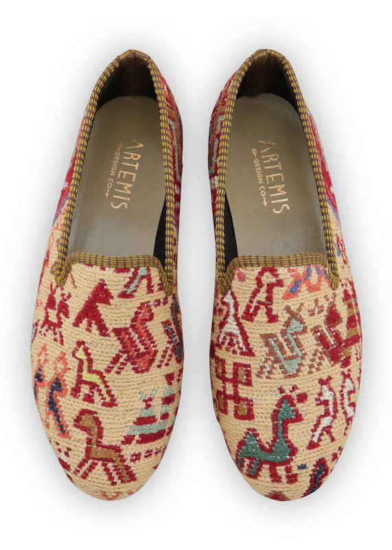 Load image into Gallery viewer, womens-kilim-smoking-shoes-WKSS39-0334