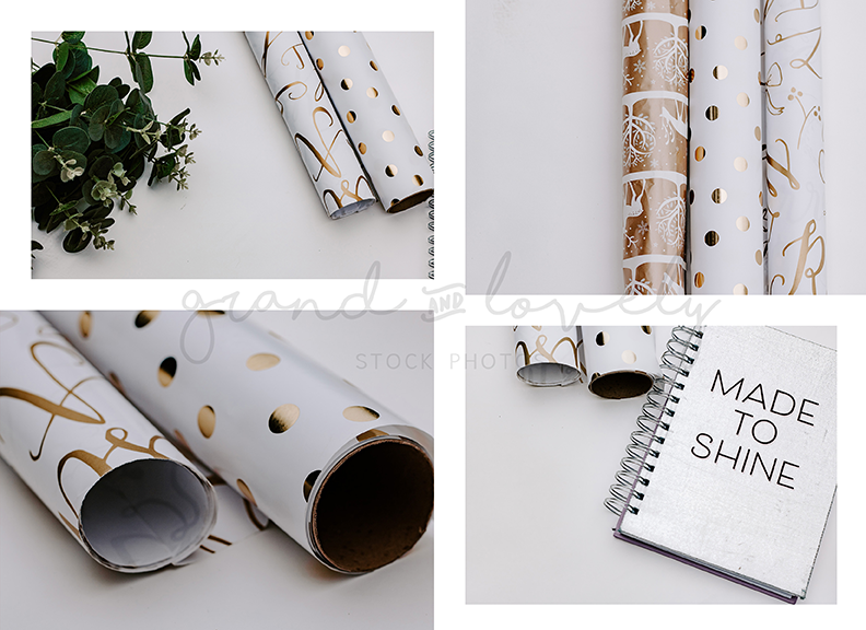 GOLD themed mockup bundle (50+ styled stock photos & quotes) - Grand & Lovely Stock styled photography desktops lifestyle screens desktops stationary