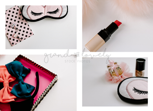 Styled Stock Photography | BEAUTY for bloggers bundle (70+ images) - Grand & Lovely Stock styled photography desktops lifestyle screens desktops stationary