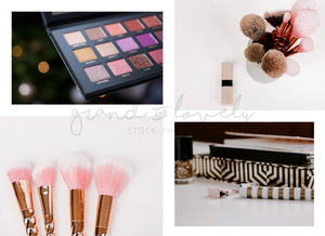 ALL THE BEAUTY styled stock bundle (70+ photos & quotes) - Grand & Lovely Stock styled photography desktops lifestyle screens desktops stationary