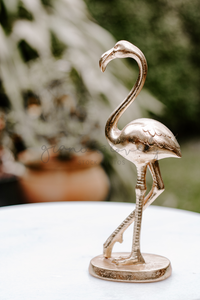 Lifestyle | Gold Flamingo Garden Portrait | Single Photo - Grand & Lovely Stock styled photography desktops lifestyle screens desktops stationary