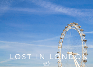 Premium Styled stock photography I Travel Stock Photo | London Eye Image | travel blog | blue skies - Grand & Lovely Stock styled photography desktops lifestyle screens desktops stationary