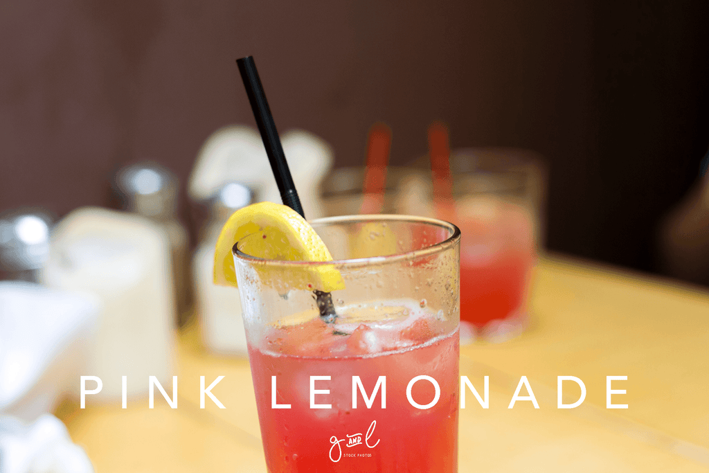 Premium Styled stock photography I Food Stock Image | lifestyle | pink lemonade | food & drink blog | concept - Grand & Lovely Stock styled photography desktops lifestyle screens desktops stationary