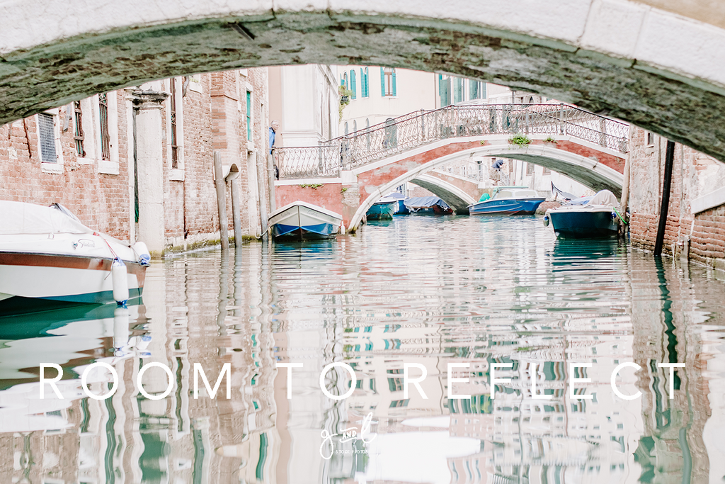 Premium Styled stock photography I Travel Stock Image | Boats on a canal | Reflections | Slow Living - Grand & Lovely Stock styled photography desktops lifestyle screens desktops stationary