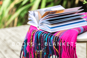 Premium Styled stock photo I Lifestyle Image | Stock Photo of Books | Blankets | Hygge | Easy Living | Slow living | Cosy