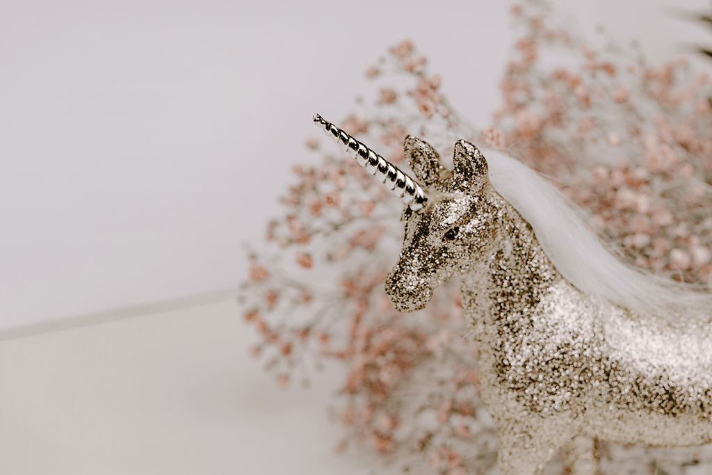 #lifestyle | Golden Unicorn blurred background closeup | Single Photo - Grand & Lovely Stock styled photography desktops lifestyle screens desktops stationary