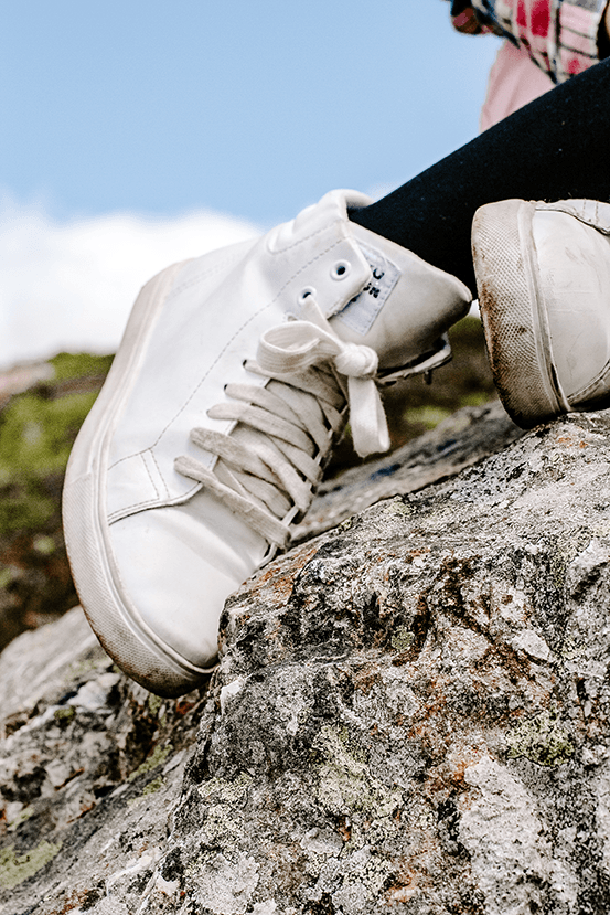 Free Styled Stock Photo |  #PARENTING blogging | Teenager Concept - White Hi-Tops sneakers shoes | Set of 2 Photos - Grand & Lovely Stock styled photography desktops lifestyle screens desktops stationary