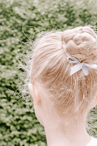 Styled Stock Photography | #PARENTING | little girl ballet bun & net - Grand & Lovely Stock styled photography desktops lifestyle screens desktops stationary