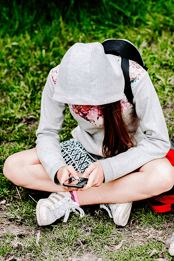 Free Styled Stock Photo | #PARENTING Teen girl looking at her smart phone | Set of 2 Photos - Grand & Lovely Stock styled photography desktops lifestyle screens desktops stationary