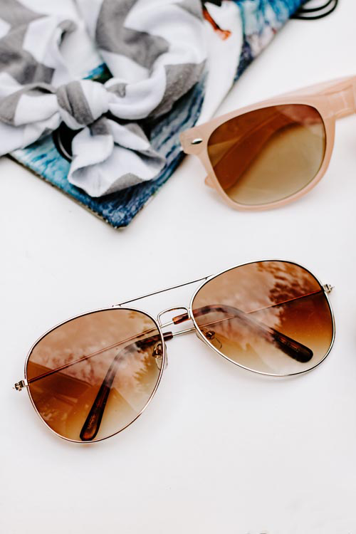 #travel #lifestyle I summer background aviator sunglasses I Single Photo - Grand & Lovely Stock styled photography desktops lifestyle screens desktops stationary