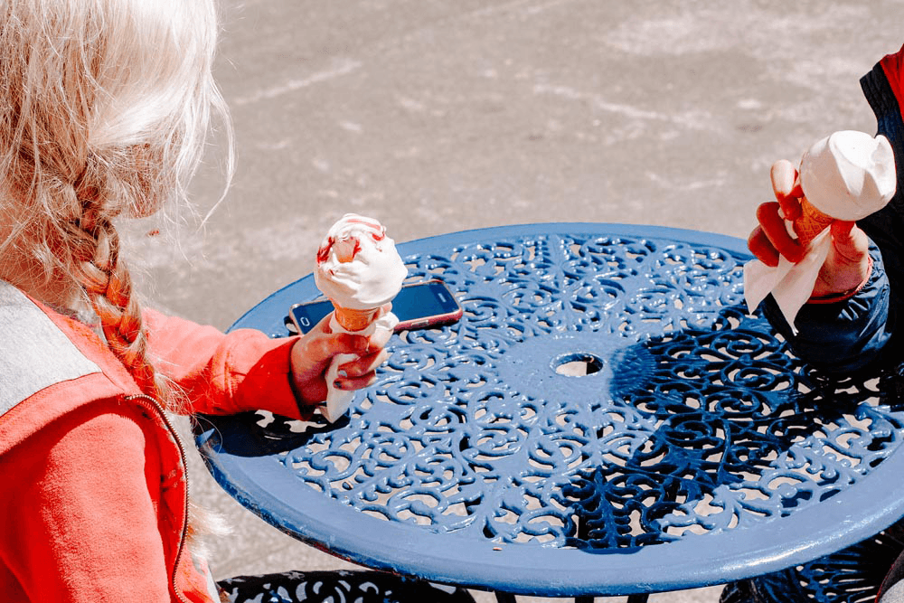 Free Styled Stock Photo | #travel #lifestyle I summer children ice-cream - Grand & Lovely Stock styled photography desktops lifestyle screens desktops stationary