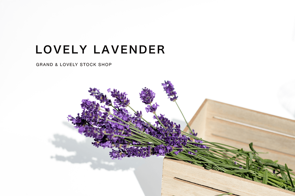 Styled Stock Photography | #lifestyle #blog I Lavender in wooden slat box - Grand & Lovely Stock styled photography desktops lifestyle screens desktops stationary
